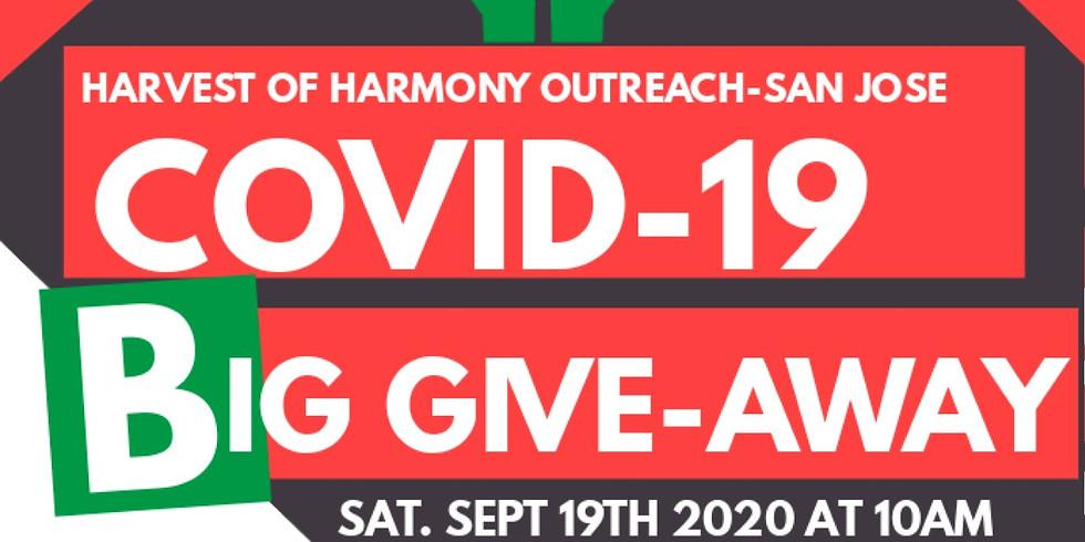 Harvest of Harmony - San Jose COVID-19 BIG GIVEAWAY