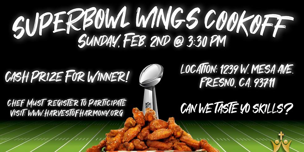 Superbowl Wings Cook-off