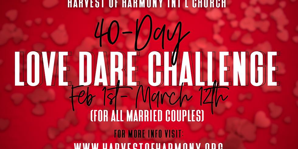 40-DAY LOVE DARE CHALLENGE