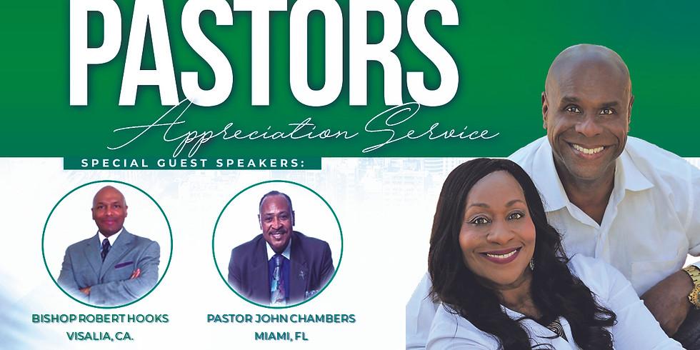 Pastors Appreciation In-Person Service