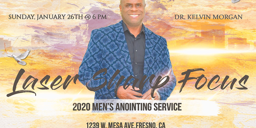 2020 Men's Anointing Service
