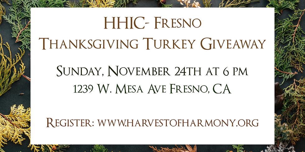 Fresno Turkey Giveaway