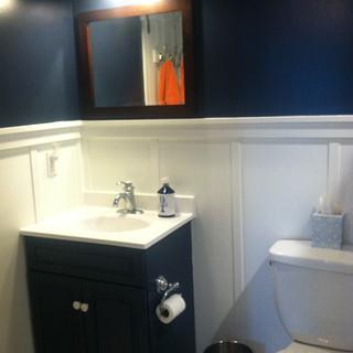 Hale Navy bathroom