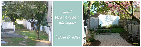 Small backyard makeover