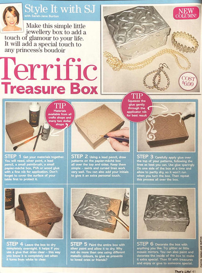 Terrific Treasure Box