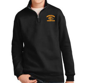 BLACK 995Y YOUTH 1/4 ZIP SWEATSHIRT