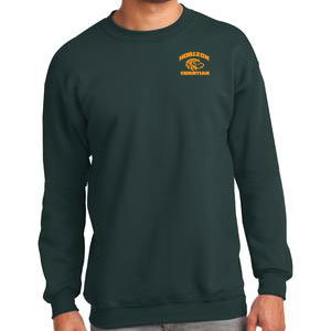 DARK GREEN CREW NECK SEWATSHIRT PC90 DRK GRN