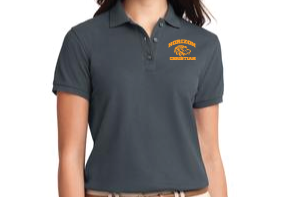 STEEL GRAY LADIES POLO L500 SGRY