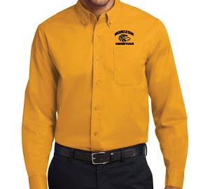 GOLD MEN'S DRESS SHIRT S608 GLD