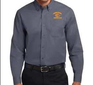 STEEL GRAY MENS DRESS SHIRT S608 SGRY