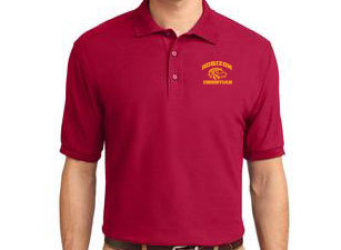 RED MEN'S POLO K500 RED