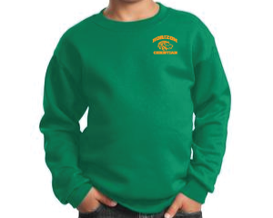 KELLY  YOUTH CREW NECK SWEATSHIRT PC90Y KGRN