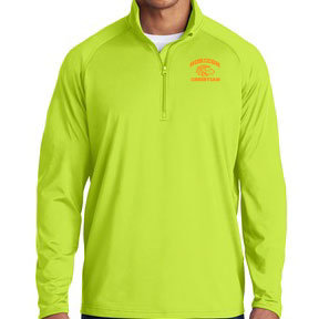 CHARGE GREEN ST850 1/4 ZIP PULLOVER