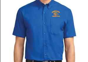 STRONG BLUE MENS SHORT SLEEVE DRESS SHIRT S508 BLU