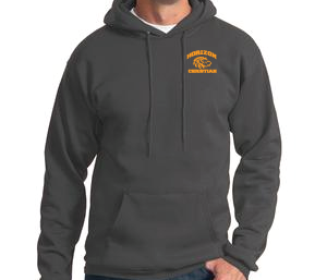 CHARCOAL HOODIE   5GRY-5GOLD