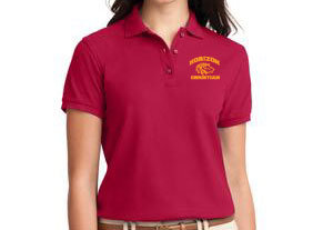 RED LADIES POLO L500 RED
