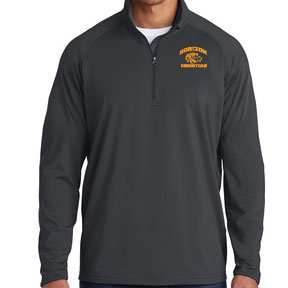 CHARCOAL GRAY ST850 1/4 ZIP PULLOVER