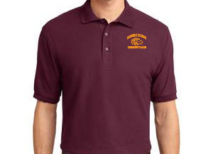 BURGUNDY MEN'S POLO K500 BUR