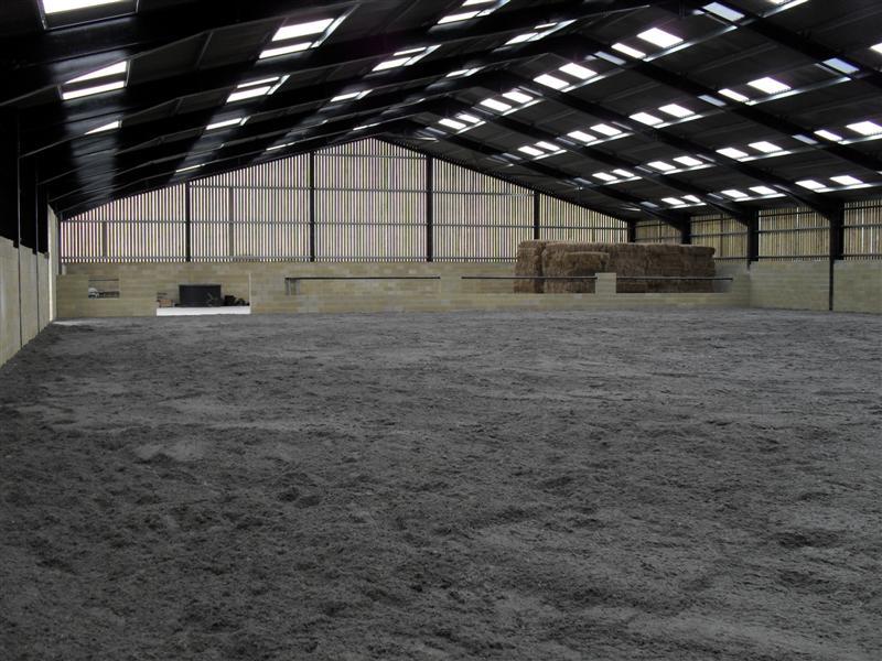 Private riding arena