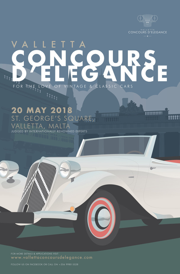 2018 CONCOURS POSTER LAUNCHED