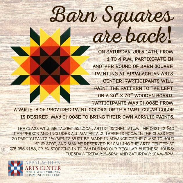 Barn Square painting workshop