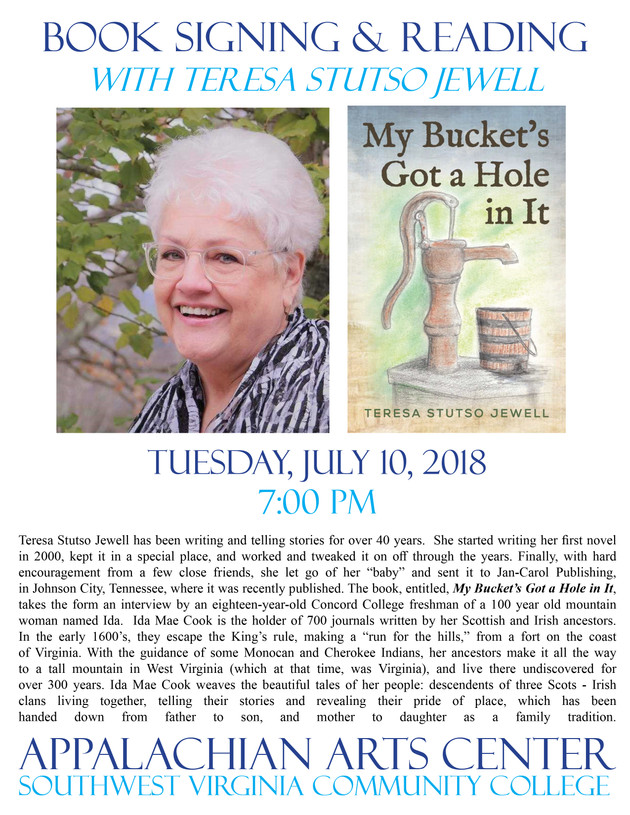 Book signing with Teresa Jewell