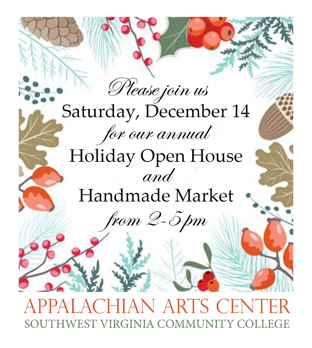 Come out to meet and support our very talented local artists, craftspeople, authors and musicians! Mingle, browse the galleries and find unique gifts handmade right here in these mountians!