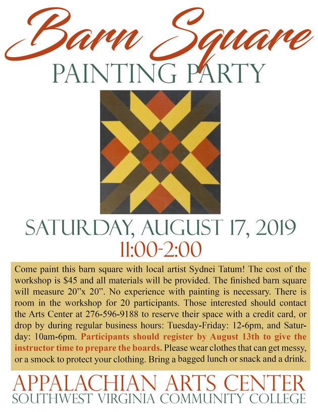 Barn Square Painting Party