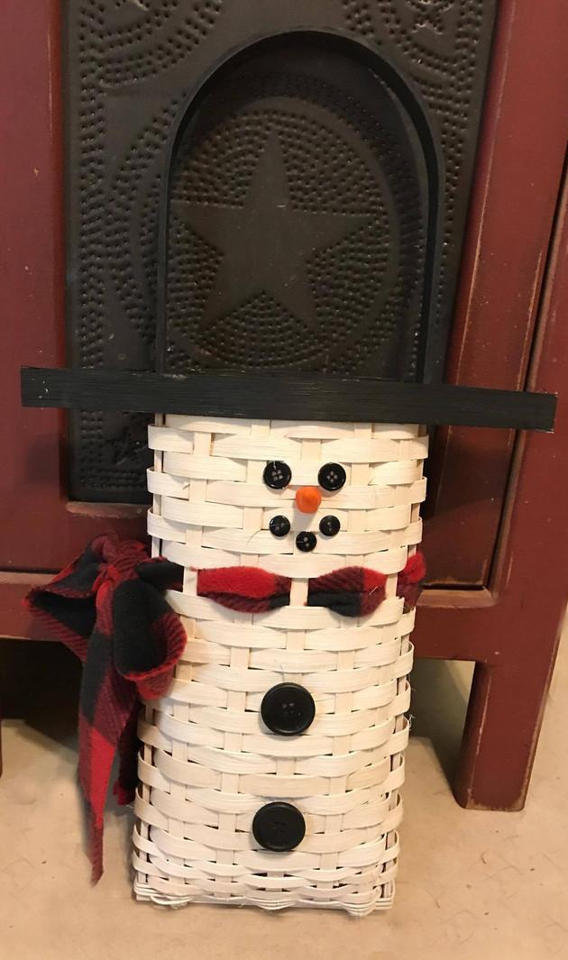 Snowman Basket class