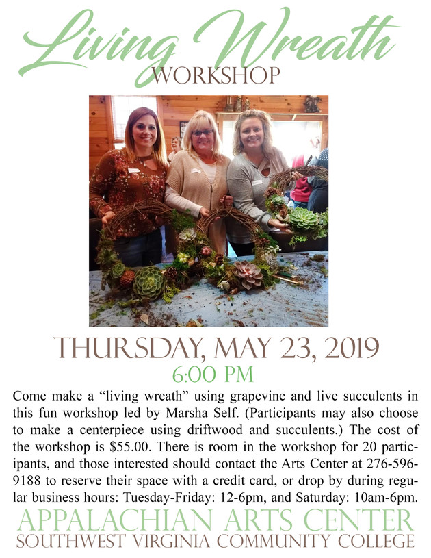Living Wreath Workshop