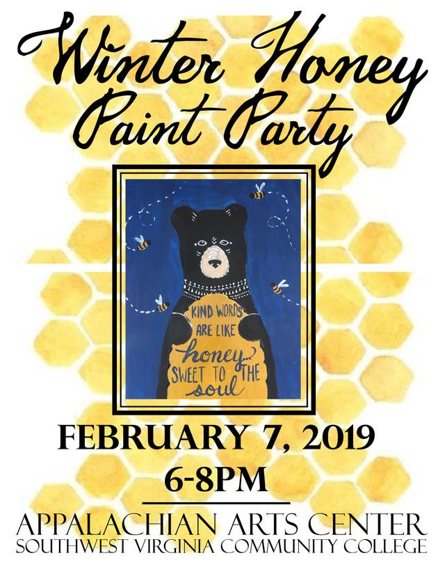 Winter Honey Festival Paint Party