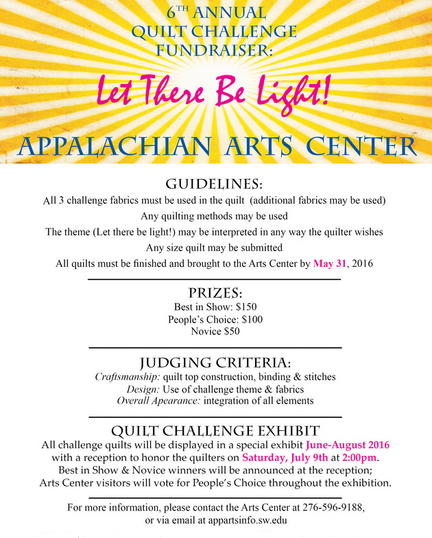 6th Annual Quilt Challenge