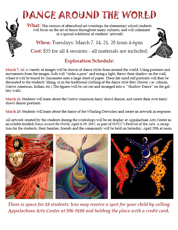 Afterschool art workshops celebrate the art of dance