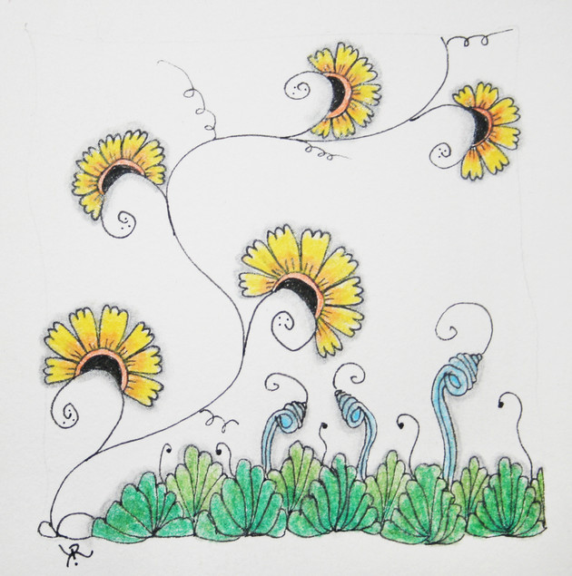 Botanical Zentangle workshop offered