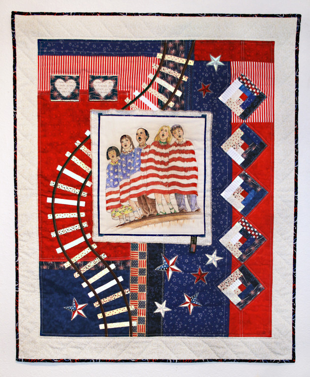 Closing reception for 'Americana' quilt challenge