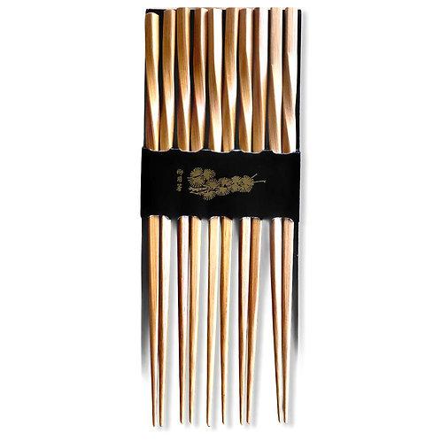 Pack Palillo Coreano Bambu  / Modelo A1