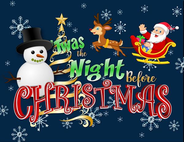 LOGO - Twas The Night Before Christmas -