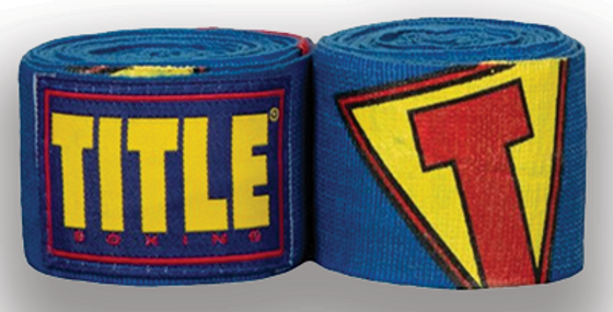 Title Boxing Super Hero Hand Wraps
