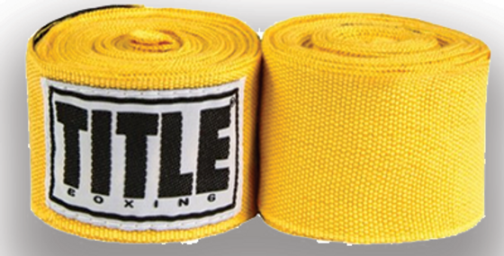 Title Boxing Hand Wraps