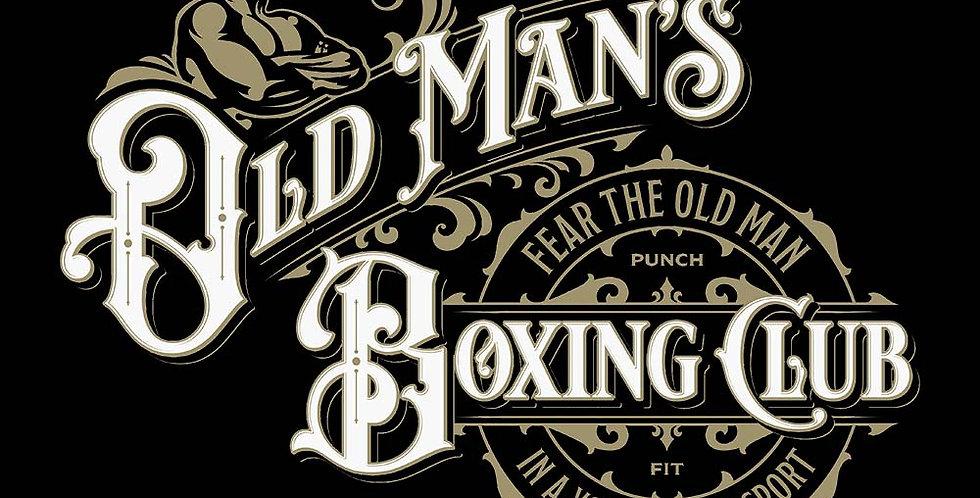 Old Man Boxing