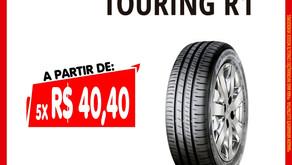 PNEU 175/70R13 82T TOURING R1 DUNLOP a partir de 5X R$ 40,40 reais no cartão de crédito.