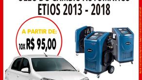 TROQUE ÓLEO DO CÂMBIO AUTOMÁTICO DO ETIOS 2013-2018...