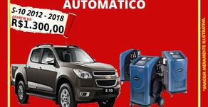 Troque o óleo do câmbio automático da S10..