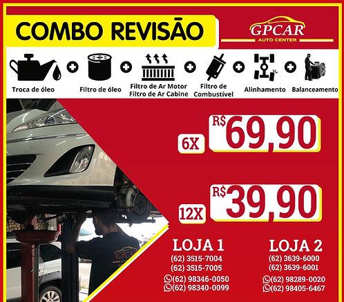 COMBO REVISÃO CARRO PASSEIO