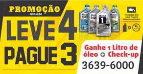 SUPER PROMOÇÃO ZIP LUBE - TROQUE O OLEO E GANHE 1 LT. GRATIS -36396000