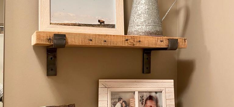 Reclaimed fir - supported shelf.jpg
