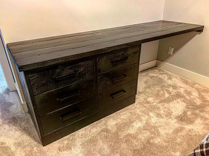 Desk Dresser Combo