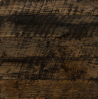 Reclaimed Grey - Stained Dark Walnut