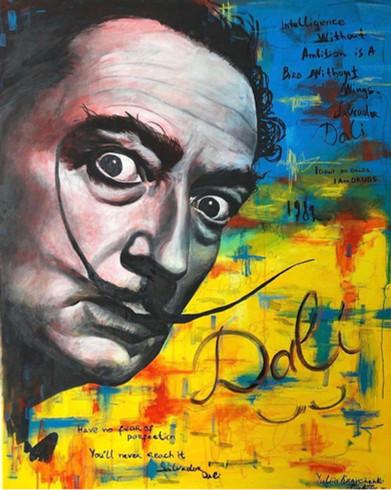 """Dali aus der Serie """"Künstlerseelen"""