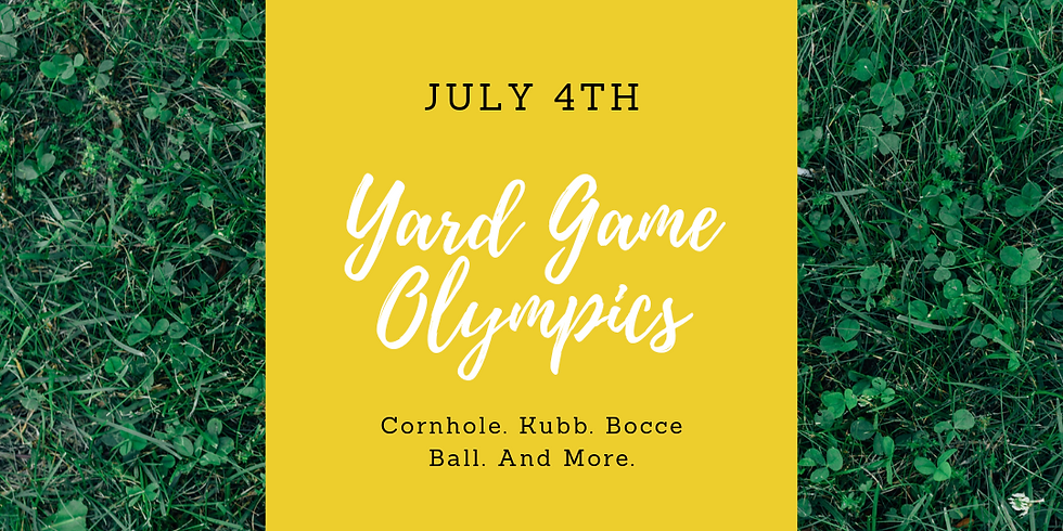 4th of July Yard Game Olympics